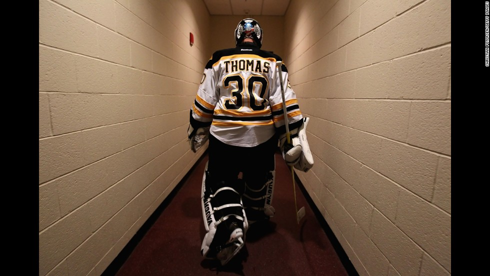 Boston Bruins goaltender Tim Thomas skipped the ceremony held by President Obama's White House in 2012 honoring the 2011 Stanley Cup winners.