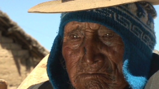 Is Bolivian man oldest person alive?