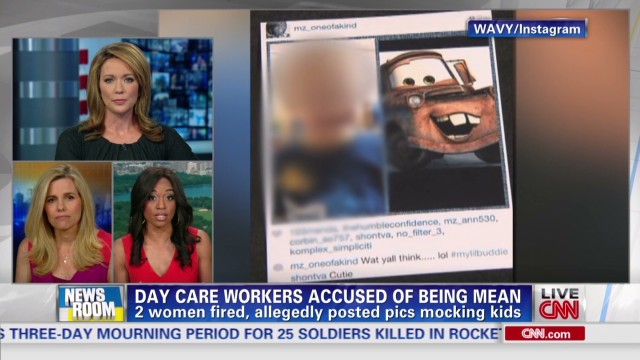 Day care workers accused of bullying