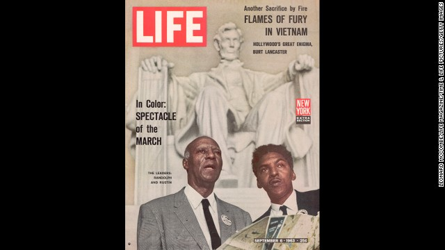 Strom Thurmond attacks Bayard Rustin