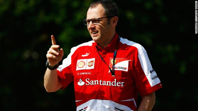 Ferrari team principal Stefano Domenicali wants a positive mental attitude from his team.