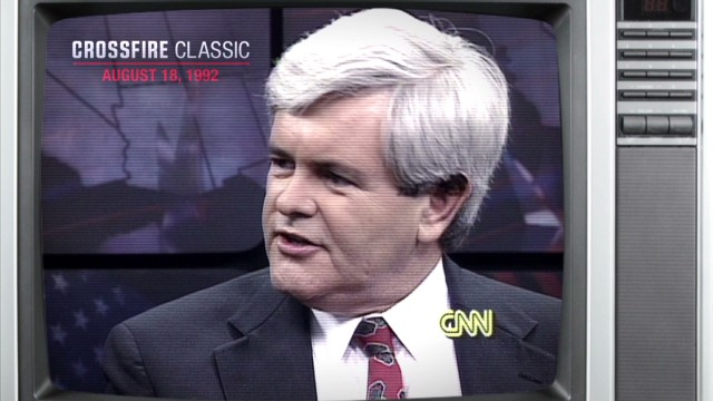 crossfire classic 4 gingrich hillary clinton _00003306.jpg