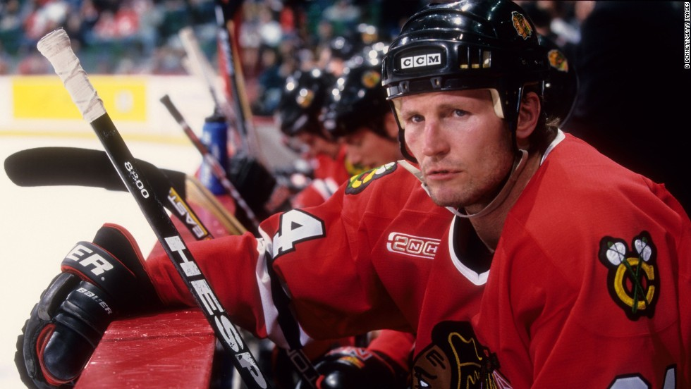 Hockey player Bob Probert was found to have CTE after dying of heart failure at the age of 45.