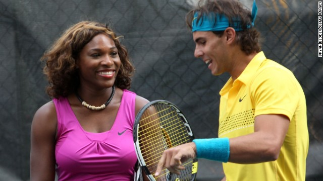 Serena Williams is the defending women's champion at the U.S. Open while Rafael Nadal is the favorite in the men's draw.