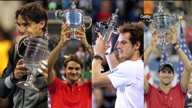 Secret to beating tennis' big four