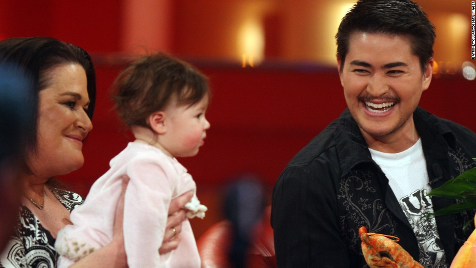"Thomas Beatie, right, made headlines as ""the pregnant man"" when he <a href=""http://www.cnn.com/2008/US/11/18/lkl.beatie.qanda/"">gave birth</a> to his daughter, Susan, in 2008. Beatie wrote a book about his experience called ""Labor of Love: The Story of One Man's Extraordinary Pregnancy."""
