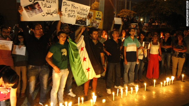 World reacts to alleged chemical attack