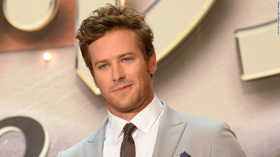 "Armie Hammer starred in ""The Lone Ranger,"" so he has action film experience. And he is adorable."