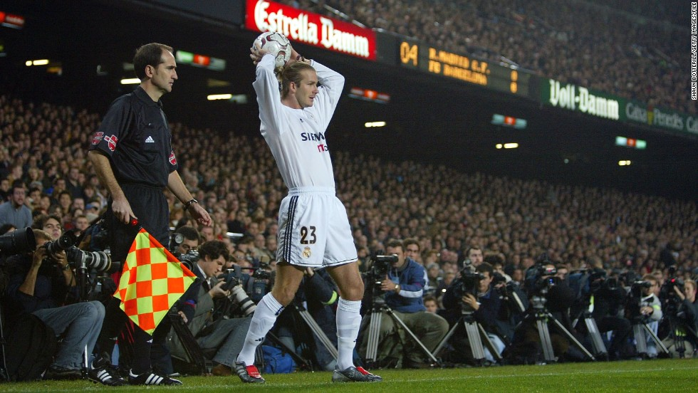 "<strong>2003-2006 Real Madrid ""Galacticos"": </strong>Perhaps unfairly, David Beckham's signing at Real Madrid drew criticism as being part of the style-over-substance philosophy of signing internationally recognized superstars known as ""galacticos."""