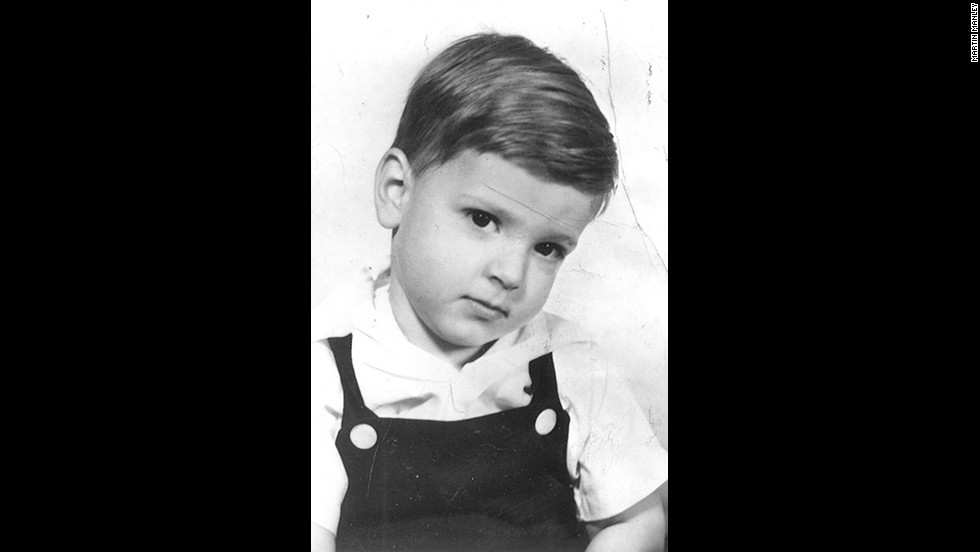 """Martin Manley at age four. """"As a child I grew up poor along with my mom, dad, brother and sister. We didn't have much and it would be disingenuous to say we at least had each other. I suppose that's technically true, but I'm not sure how much value there was in having each other -- since all that meant was that we shared the same roof."""""""