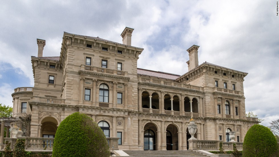 "The 70-room Breakers covers 126,000 square feet from attic to basement to mezzanine. Ever humble, 19th-century owner Cornelius Vanderbilt II originally called this a ""cottage."""