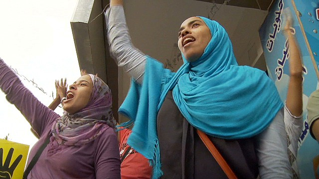 Egyptian women want their voices heard