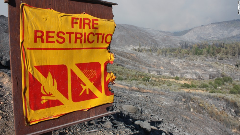 Some 2,600 of firefighters were battling the out-of-control Rim Fire on August 24.
