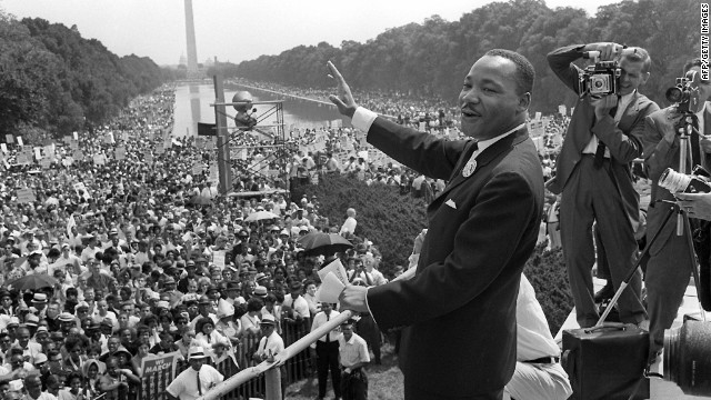 """The Rev. Martin Luther King Jr. electrified the nation with his """"I Have a Dream"""" speech in August 1963, and the FBI was watching."""