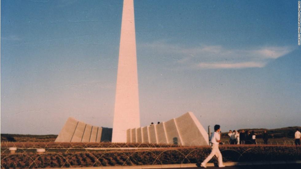 A memorial to KAL 007 on Hokkaido, Japan.