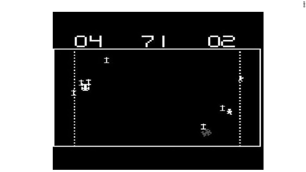 """Its graphics are quaint and antiquated. But """"Death Race"""" may have prompted the first violent video game debate in the arcades of the late1970s with its goal of gaining points by running over """"gremlins"""" who looked a lot like pedestrians."""