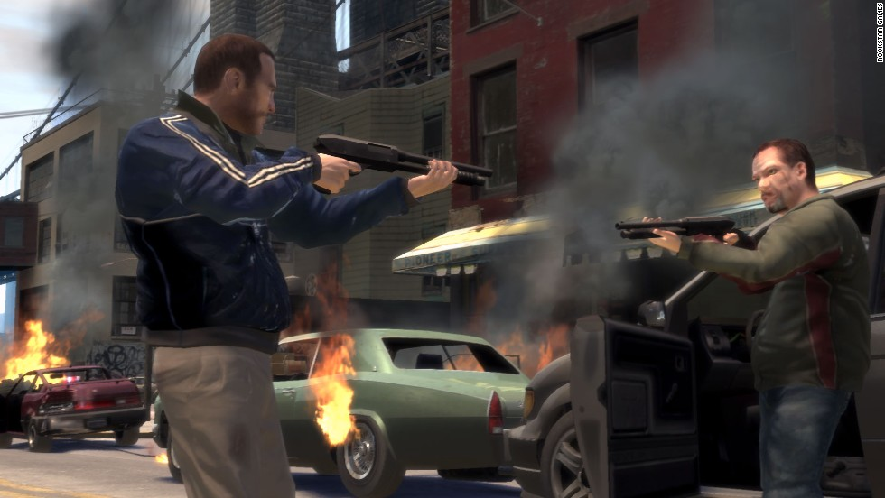 """Grand Theft Auto IV"" rekindled the violent video-game debate with reports that an 8 year old who shot and killed his elderly caretaker had been playing it. Studies have been inconclusive on the issue, but the debate stretches back more than three decades."