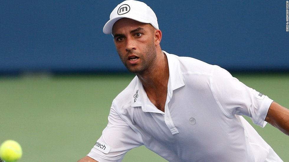 This will be the final tournament for U.S. favorite James Blake. He said Monday he would quit the pro tour following the U.S. Open. Blake reached a high of No. 4 in 2006.