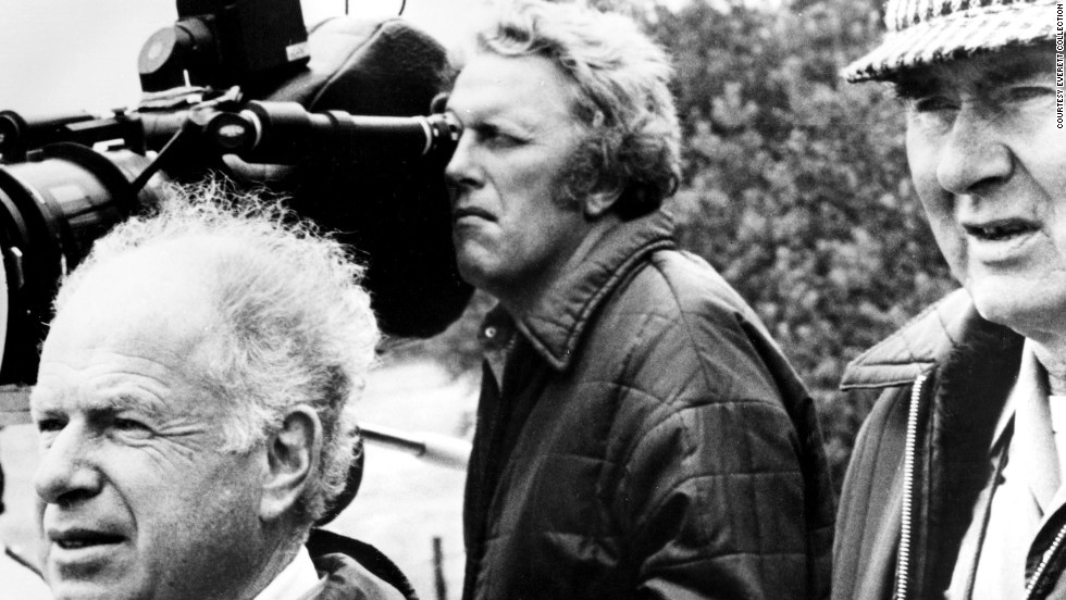 "British cinematographer <a href=""http://www.cnn.com/2013/08/27/showbiz/movies/obit-star-wars-cinematographer-gilbert-taylor/"">Gilbert Taylor,</a> right, died in his home on the Isle of Wight on Friday, August 23. The man behind the visual style of movies such as ""Star Wars"" and ""Dr. Strangelove"" was 99. Here, Taylor and director Peter Brooks, left, film ""Meetings With Remarkable Men"" in 1979."