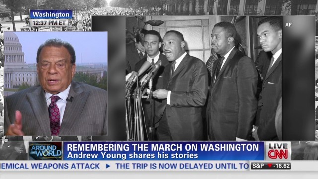 Andrew Young shares memories
