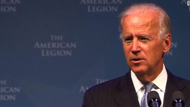 Vice President Biden speaks to the American Legion convention in Houston, TX, 8/27/2013
