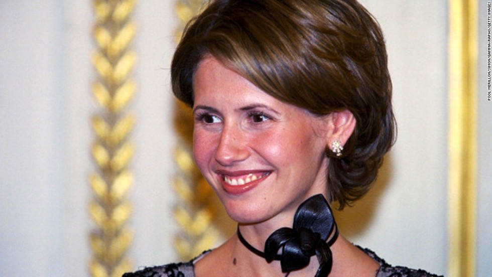 First lady of Syria <b>Asma al-Assad</b> attends an official dinner at Elysee ... - 130828093417-01-asma-al-assad-horizontal-large-gallery