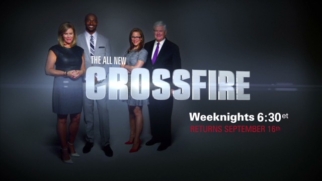 'Crossfire' hosts debate action in Syria