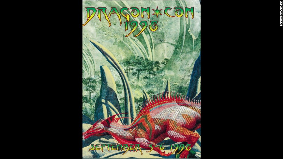 """Red Dragon"" by Roger Dean in 1998"