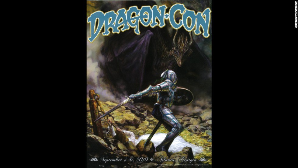 """""""St. George and the Dragon"""" by Donato Giancola in 2010"""