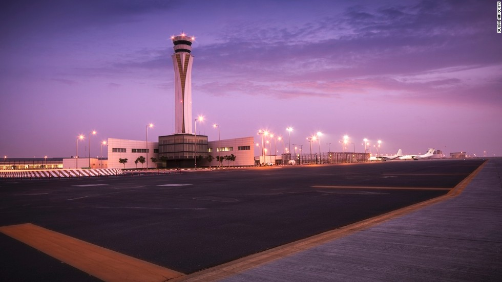Dubai's newest airport, Dubai World Central, opens for passenger traffic in October. Its annual capacity, which will increase in stages, will ultimately reach 160 million.