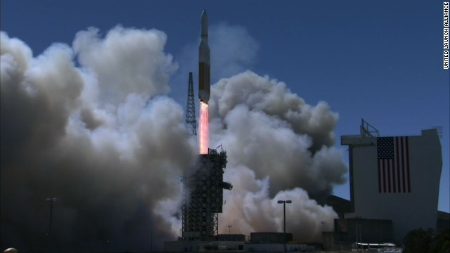 U.S. spy satellite launched into space
