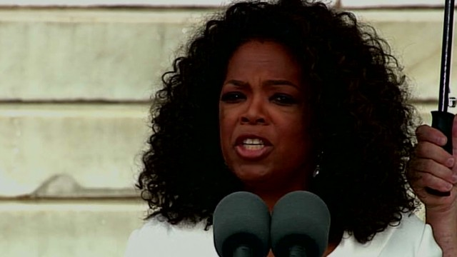Winfrey: Anniversary a time to reflect