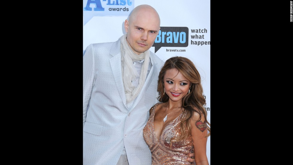 "When Billy Corgan and Tila Tequila got cozy on the red carpet in 2009, the best word to describe most people's reaction was ""confused."" For whatever reason, the Smashing Pumpkins star seemed to be enjoying the company of reality minx Tequila at Bravo's 2009 ""A-List Awards."""