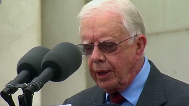 Carter: King fought for all people