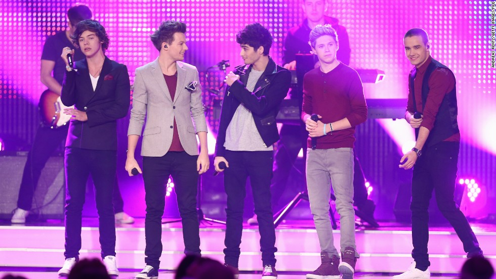 Which One Direction members share middle names?