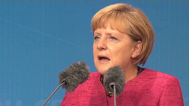 Merkel: Shouldn't have let Greece in EU