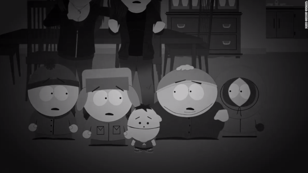 "South Park takes on ""The Ghost Hunters."" The show parodied the hit paranormal show  in a season 13 episode called ""Dead Celebrities."" You know paranormal has moved mainstream when South Park takes it on."