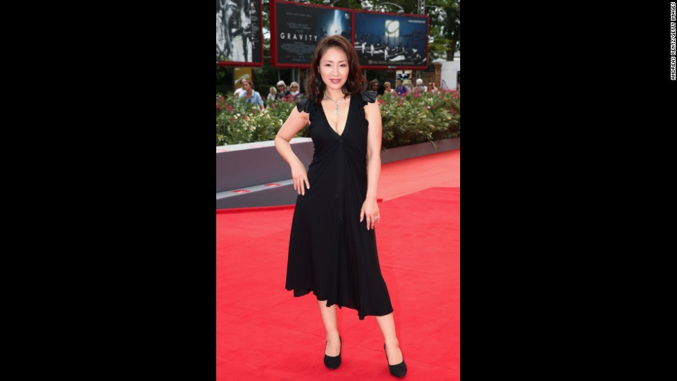 """Actress Megumi Kagurazaka attends the """"Why Don't You Play In Hell?"""" premiere on August 29."""