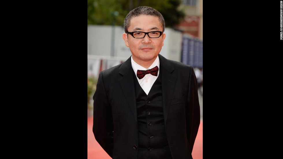 """Director Sion Sono attends the """"Why Don't You Play In Hell?"""" premiere on August 29."""
