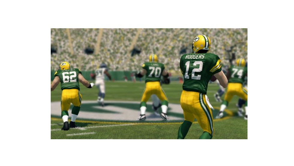 "Sorry, Peyton. Sorry, Tom. Green Bay's <strong>Aaron Rodgers</strong> topped Manning and Brady among quarterbacks in ""Madden 25,"" the new version of the popular football video game. The Falcons' Matt Ryan and the Saints' Drew Brees rounded out the top 5."