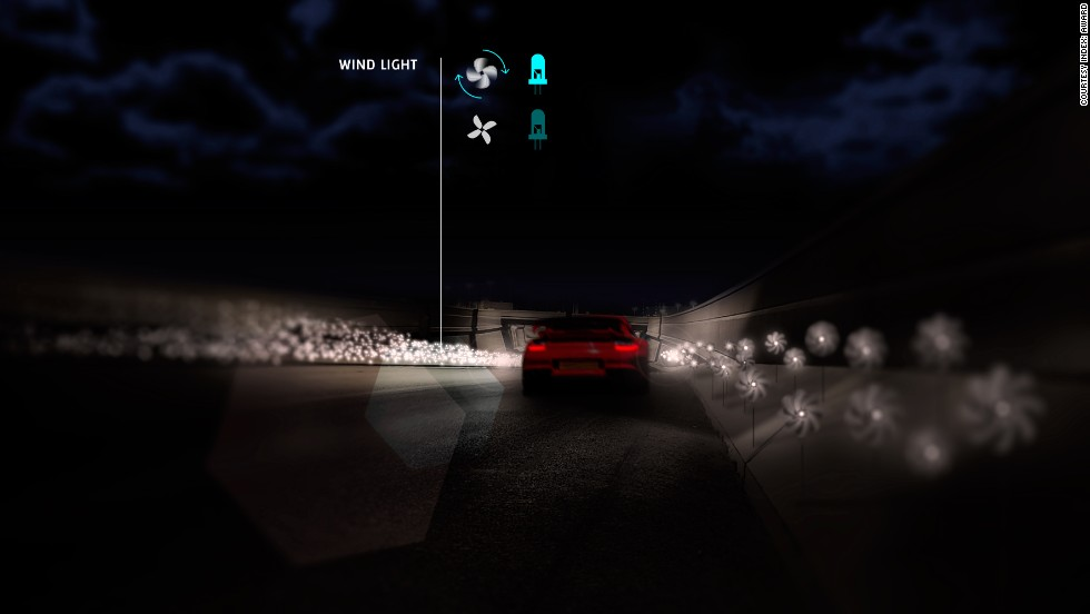 """Intelligent road concept <strong>Smart Highway</strong> became INDEX's first double award winner, taking the second Community Award and the People's Choice Award -- as voted for by readers of CNN.com. The jury applauded the reinvention of """"dumb"""" roads for the 21st Century."""
