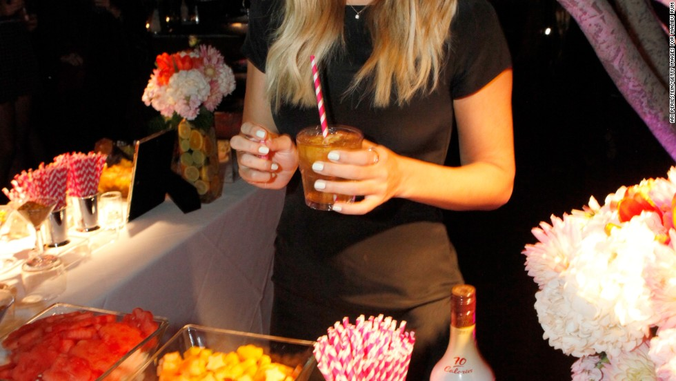 Lauren Conrad shares her best lifestyle advice at a party hosted by Malibu Rum.