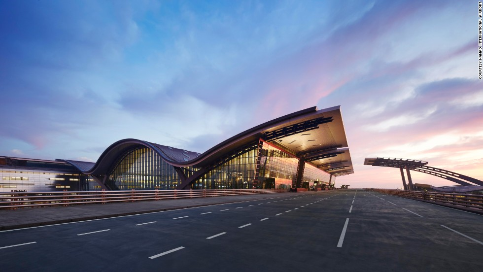 Hamad International Airport in Doha, Qatar is the first Middle East airport to crack the top 10 on SkyTrax's annual best airports list. The facility, built to replace Doha International Airport, opened in 2014.