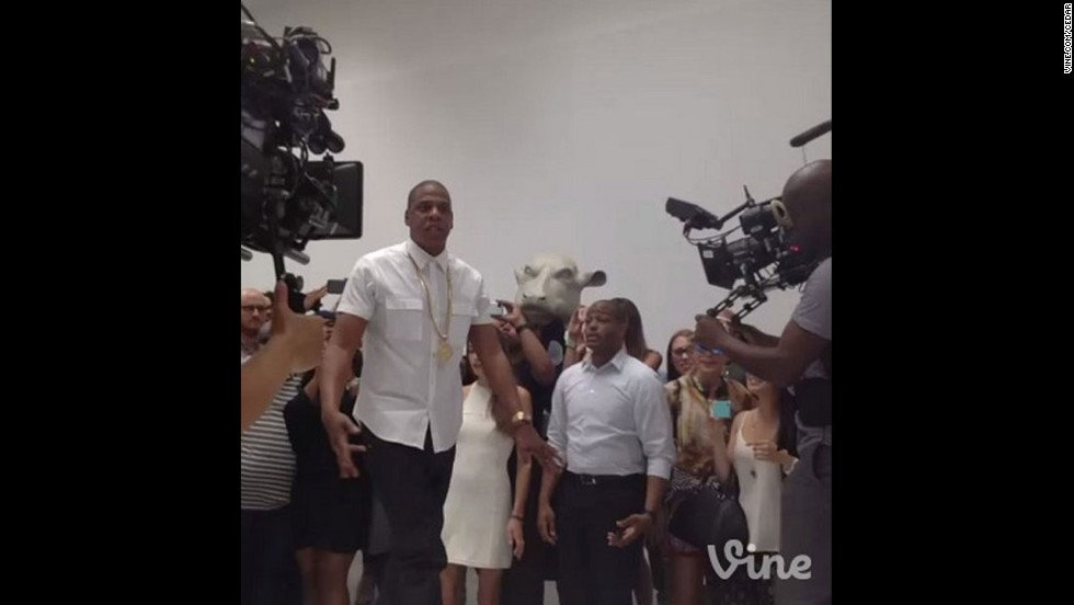 "With an album called ""Magna Carta Holy Grail,"" one <a href=""http://marquee.blogs.cnn.com/2013/06/17/jay-z-announces-new-album/"">outsized promotional stunt</a> with Samsung just wasn't enough for Jay-Z. No, Hov decided to prove just how artsy he can be and took over New York's Pace gallery for a six-hour rhyme fest that doubled as a <a href=""http://marquee.blogs.cnn.com/2013/06/17/jay-z-announces-new-album/"">performance art installation</a>. But the real artistry <a href=""https://twitter.com/S_C_/with_replies"" target=""_blank"">could be found on his Twitter page</a> for one blessed afternoon in July, when he provided direct and frank answers to fans' questions. We do still hold him accountable for encouraging Miley Cyrus to twerk."