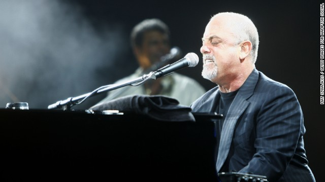 EAST HAMPTON, NY - AUGUST 4: Musician Billy Joel performs at the Hampton Social @ Ross at the Ross School on August 4, 2007 in East Hampton, New York. (Photo by Mat Szwajkos / Getty Images for Hampton Social @ Ross)