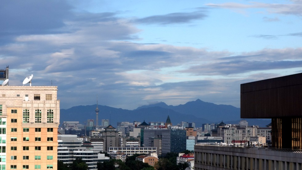 Travelers to Beijing this year will marvel at the clear skies in this photo.