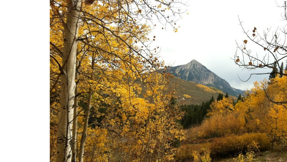 "Embrace the great outdoors and push your physical limits along the trails of the Wildflower Capital of the World: <a href=""http://www.gunnisoncrestedbutte.com"" target=""_blank"">Crested Butte, Colorado</a>, which is dressed in a blanket of golden aspens each fall. Whether on mountain bike, horseback or on your own two feet, you'll want a camera and plenty of time to soak up the atmosphere. Film buffs can combine adventure with culture September 26-29, at the <a href=""http://www.cbfilmfest.org"" target=""_blank"">Crested Butte Film Fest</a>."