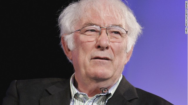 HAY-ON-WYE, UNITED KINGDOM - MAY 29: Poet Seamus Heaney reads from his new book of poetry, District and Circle, at the Guardian Hay Festival on May 29, 2006 in Hay-On-Wye, England. (Photo by Chris Jackson/Getty Images)
