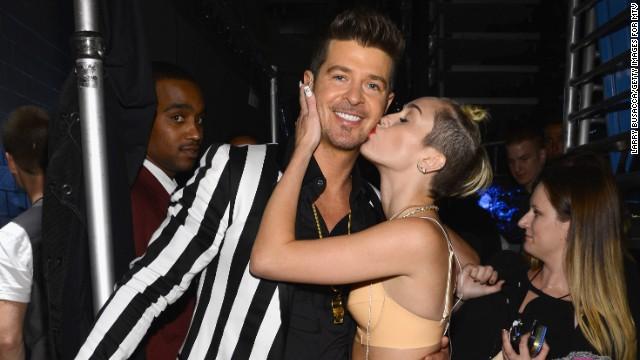 Cyrus on VMAs: I wanted to make history