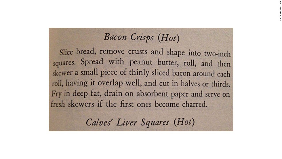 Bacon Crisps: A Book of Hors d'Ouevre by Lucy G. Allen (1941)